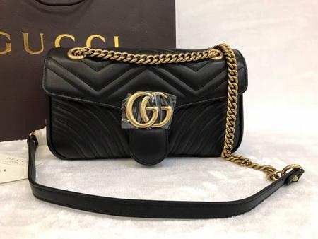 Gucci GG Marmont small matelassé shoulder bag Top mirror 7 stars