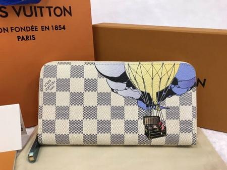 Louis Vuitton Zippy Wallet Illustre Mirror Image 7 stars