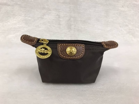 กระเป๋าใส่เหรียญ Longchamp \'Le Pliage\' Coin Purse สีน้ำตาลชอคโกแลต