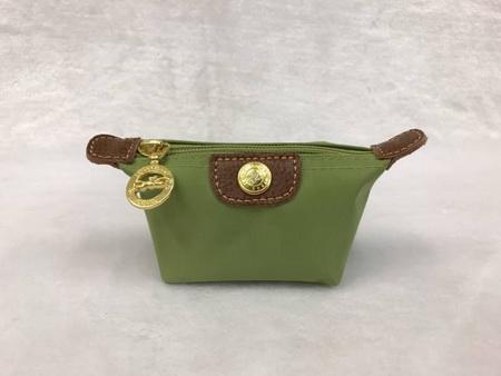 กระเป๋าใส่เหรียญ Longchamp \'Le Pliage\' Coin Purse สีเขียว