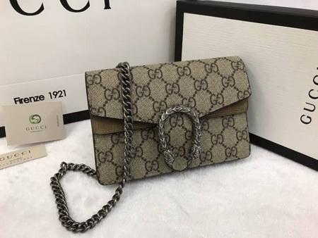 Gucci Dionysus GG Supreme super mini bag Top mirror 7 stars