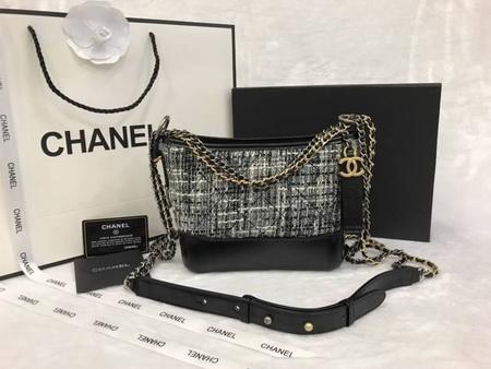 Chanel  gabrielle small tweed bag