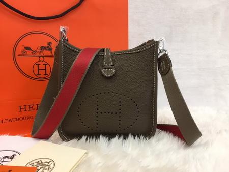 Mini Hermès Evelyne TPM Bag in etoupe