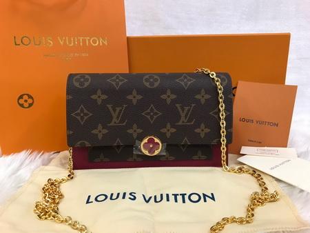 Louis Vuitton FLORE CHAIN WALLET M67404