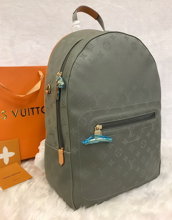 Louis Vuitton Monogram Titanium Backpack PM M43882