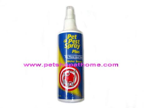 เพ็ท เพสท์ สเปรย์ ป้องกันและกำจัด เห็บ หมัด ไร ขนาด 200 ml. (out of stock)