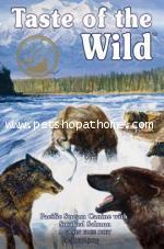 Taste of the Wild อาหารสุนัขระดับ 6 ดาว รสแซลมอนรมควัน Made in USA.