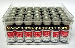 ยาป้องกันเห็บ - หมัด สำหรับน้ำหนัก 10 - 20 กก. (35 ขวด)