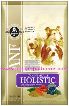 อาหารสุนัข ANF - Holistic  มีขนาด 1 และ 3 kg.