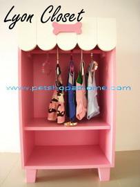 ตู้เสื้อผ้า - มีสีชมพู และสีฟ้าค่ะ
