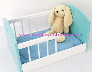 เตียงนอนสัตว์เลี้ยง - มีสีฟ้า และชมพูค่ะ (out of stock)