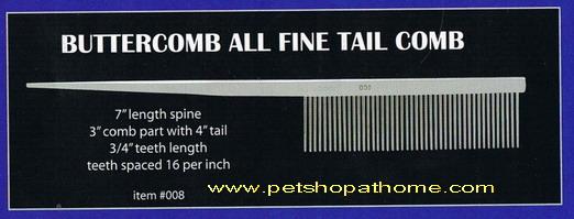 Buttercomb - ALL FINE TAIL COMB