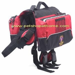 กระเป๋าเป้สะพายหลังสุนัข - สีแดง และสีน้ำเงินค่ะ