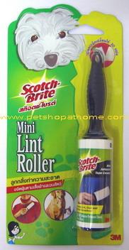 3M Mini Lint Roller - ลูกกลิ้งทำความสะอาด ขจัดฝุ่นและขนสัตว์