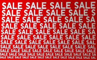 Clearance Sale สินค้าลดราคาพิเศษ