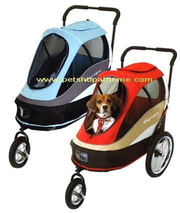 biyaya รถเข็นสำหรับสัตว์เลี้ยง Pet Happy Trailer XL พร้อมส่งค่ะ
