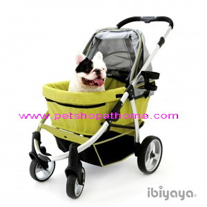 Ibiyaya รถเข็นสำหรับสัตว์เลี้ยง - Elegant Retro