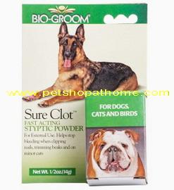 Bio-Groom Sure Clot - ยาห้ามเลือด