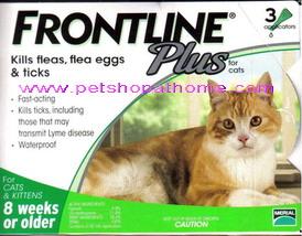ฟรอนท์ไลน์ พลัส แมว