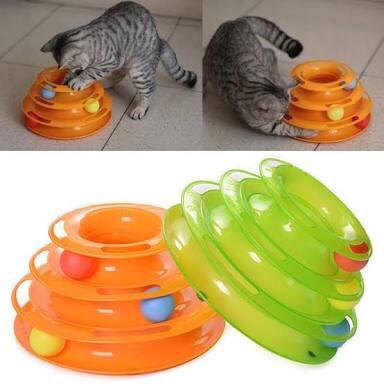 ของเล่นแมว Tower of Tracks