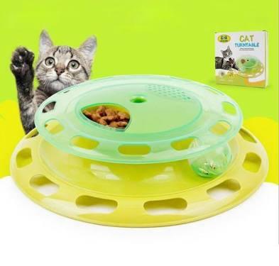 ของเล่นแมว Turntable