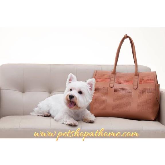 Ibiyaya กระเป๋าใส่สัตว์เลี้ยง Premium Leather