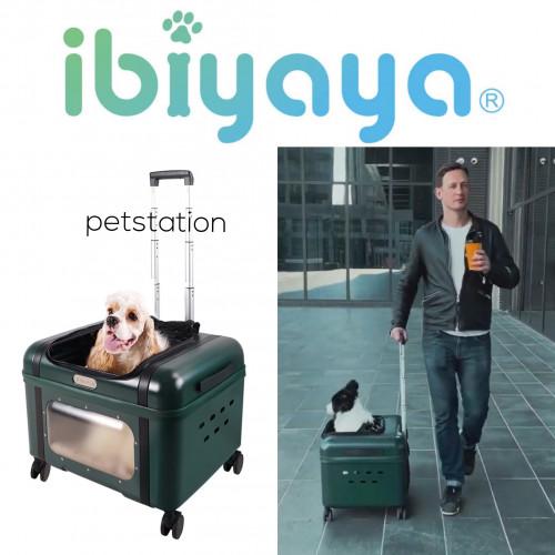 Ibiyaya Lavada Pet Transport Luggage กระเป๋ารถเข็นใส่สัตว์เลี้ยง