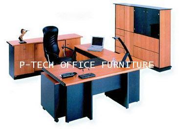 โต๊ะทำงานผู้บริหาร รุ่น EX-04