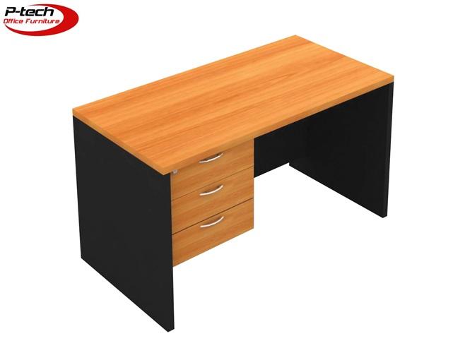 โต๊ะทำงาน3ลิ้นชักซ้าย (S-1230S  -  S-1830)