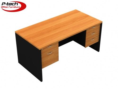 โต๊ะทำงาน2ลิ้นชักซ้าย3ลิ้นชักขวา (S-1523  -  S-1823)