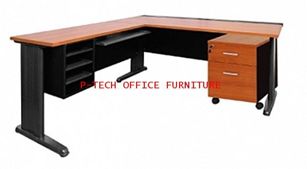 โต๊ะทำงานผู้บริหาร รุ่น JACK SET 4