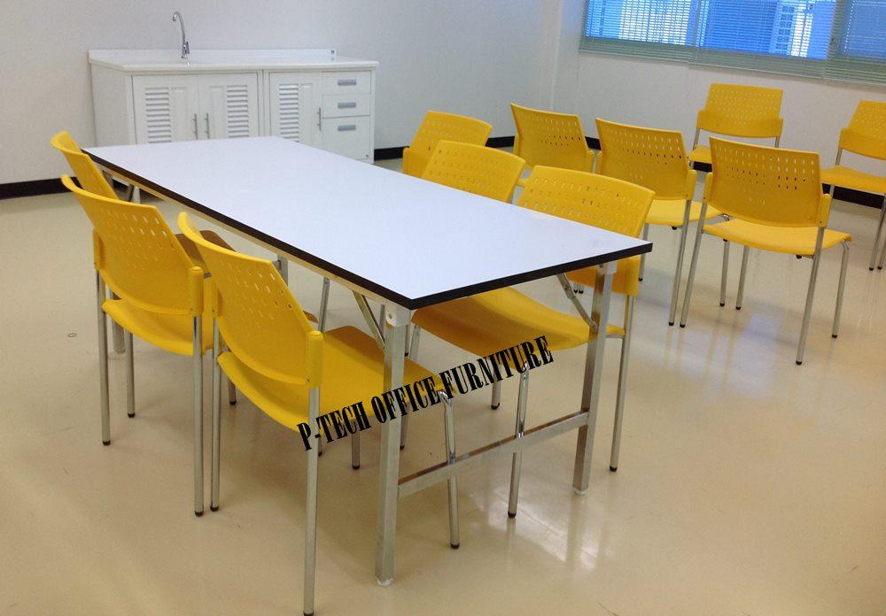 ชุดโต๊ะโรงอาหาร  รุ่น TF-80180+VC-611