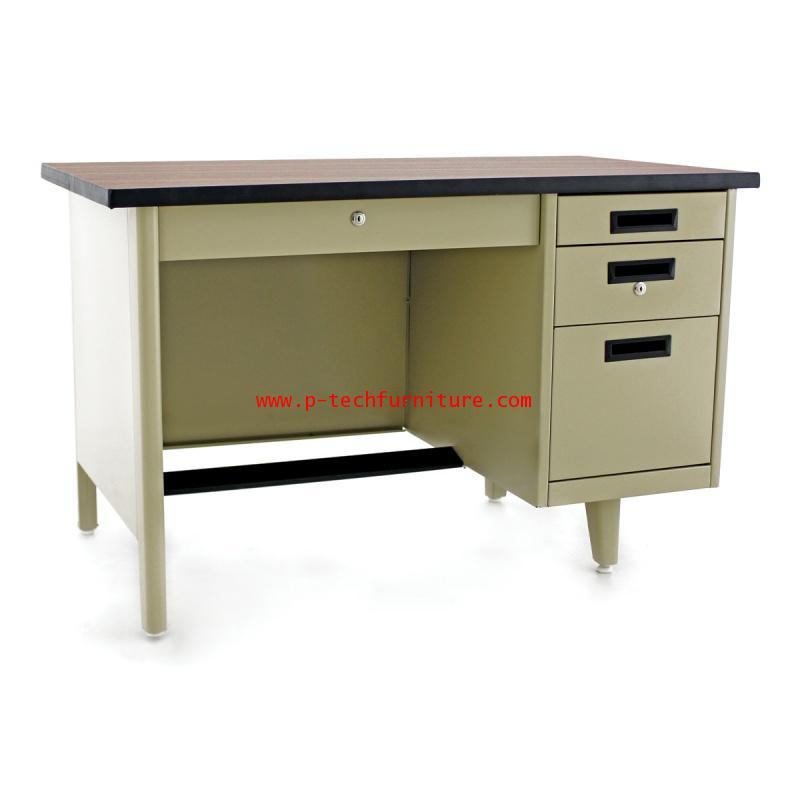 โต๊ะทำงานเหล็ก DLN-2436 - DLN-2648