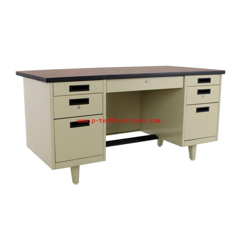 โต๊ะทำงานเหล็ก DLN-2654 - DLN-3472