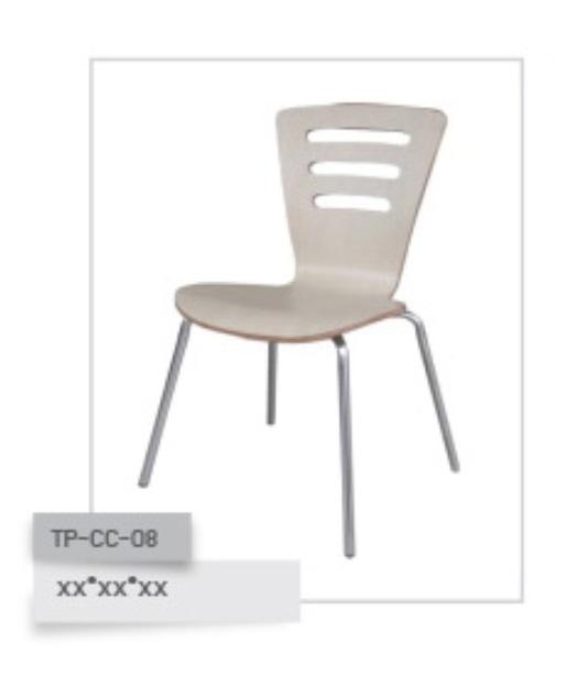 เก้าอี้ไม้ดัด รุ่น TP-CC-08