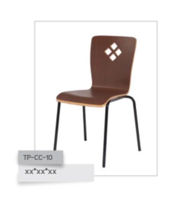 เก้าอี้ไม้ดัด รุ่น TP-CC-10