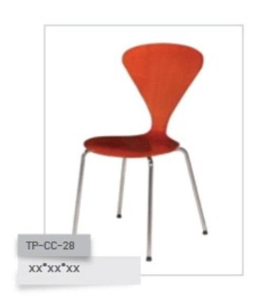 เก้าอี้ไม้ดัด รุ่น TP-CC-28