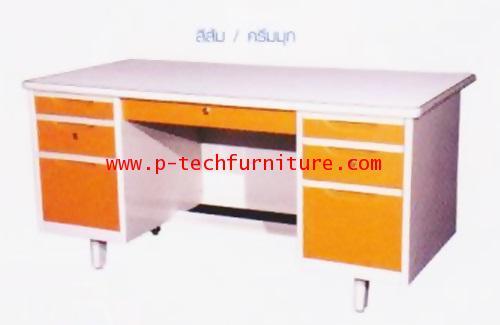 โต๊ะสำนักงานเหล็ก รุ่น DLST-4 (E)