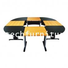 โต๊ะประชุมขาเหล็ก รุ่น DLI-260H