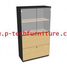 ตู้เก็บเอกสารไม้ รุ่น DLG-SD-80160