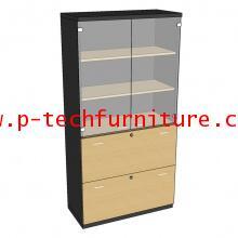 ตู้เก็บเอกสารไม้ รุ่น DLG-SD-80190
