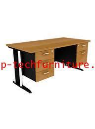 โต๊ะทำงาน 2 ลิ้นชักขวา 3 ลิ้นชักซ้าย (SS1-1523,SS1-1532  -  SS1-1823,SS1-1832)