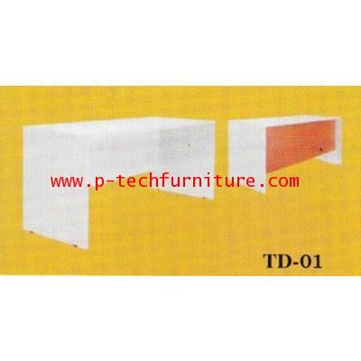 โต๊ะทำงานไม้ รุ่น (TD-1201 - TD-1801)