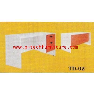 โต๊ะทำงานไม้ รุ่น (TD-1202 - TD-1802)