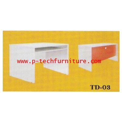โต๊ะทำงานไม้ รุ่น (TD-1203 - TD-1803)