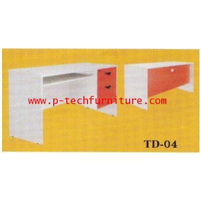 โต๊ะทำงานไม้ รุ่น (TD-1204 - TD-1804)