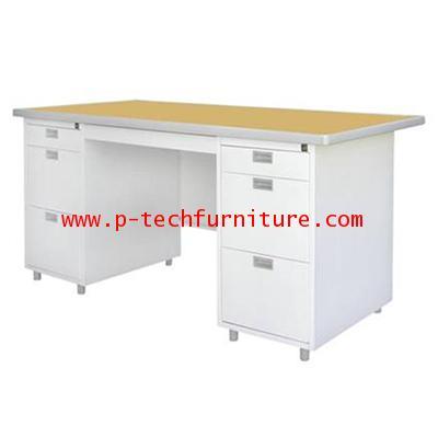 โต๊ะสำนักงานเหล็ก รุ่น DLST-8 (DP)