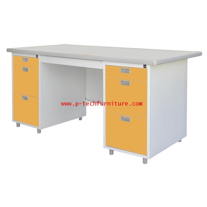 โต๊ะสำนักงานเหล็ก รุ่น DLST-10 (DX)