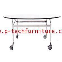 โต๊ะอเนกประสงค์ แบบทรงกลม รุ่น PRL-62