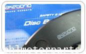 ผ้าดิสเบรคหน้า Honda Civic 2007Akemono กล่องฟ้า